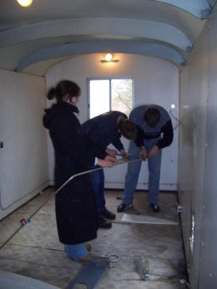 Bauwagen Herrichten 26.03.2005 - 51