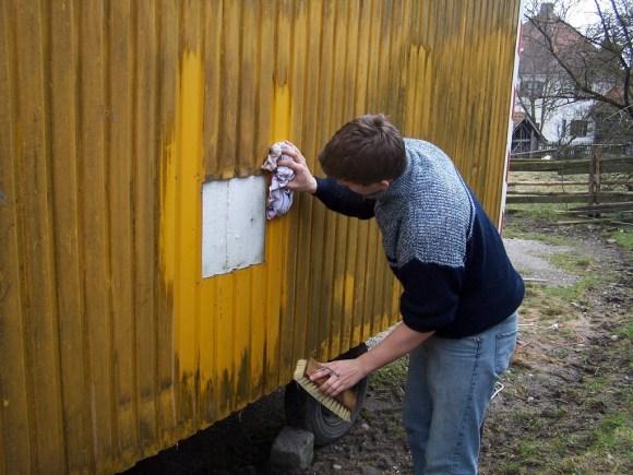 Bauwagen Herrichten 26.03.2005 - 93