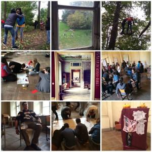 FSJ Kultur Einführungsseminar SG2 Quetzdölsdorf 2014/2015