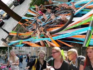 Kennlern-Rallye für die Freiwilligen des Jahrgangs 2011/2012