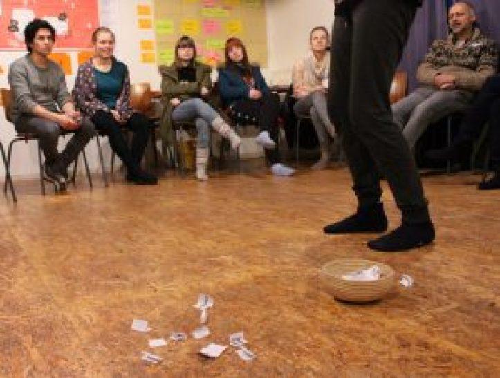 Eindrücke vom Zwischenseminar der Seminargruppe Magenta