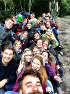 Gruppenbild Seminargruppe Grün