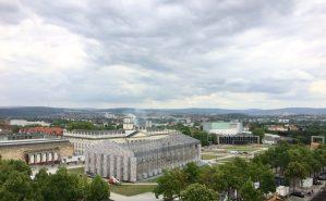 Blick auf den Friedrichsplatz