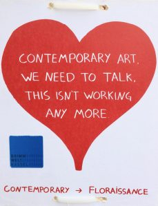 Contemporary art, we need to talk, this isn't working any more #lkjgoesdocumenta