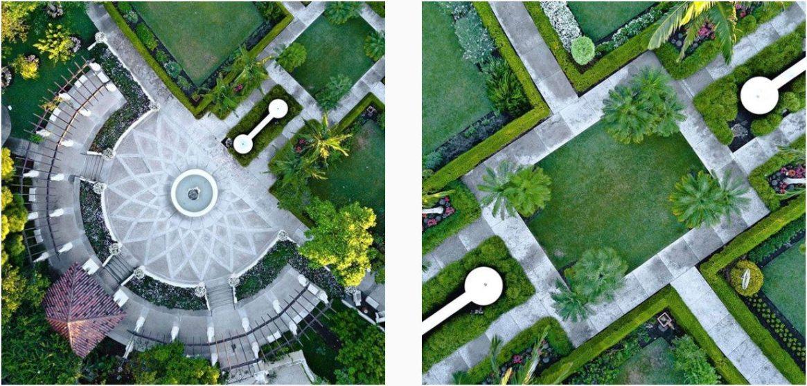 Hollis Gardens Aerial