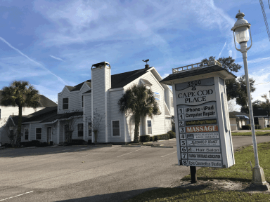 The Cape Cod Place office building at 3500 S. Florida Ave. sits on one of seven parcels recently purchased by Hospital Corporation of America.