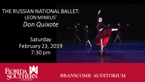 Russian National Ballet: Leon Minkus' Don Quixote @ Branscomb Auditorium - Davis Performing Arts Center