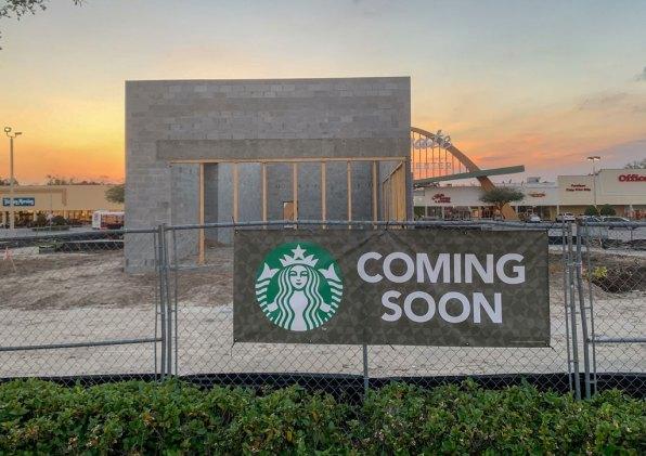 Starbucks front
