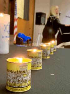 Rosenkranz and candles