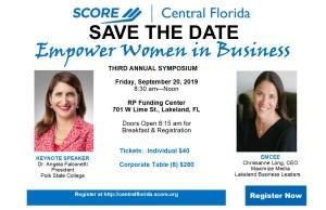 Empower Women in Business 2019 @ RP Funding Center