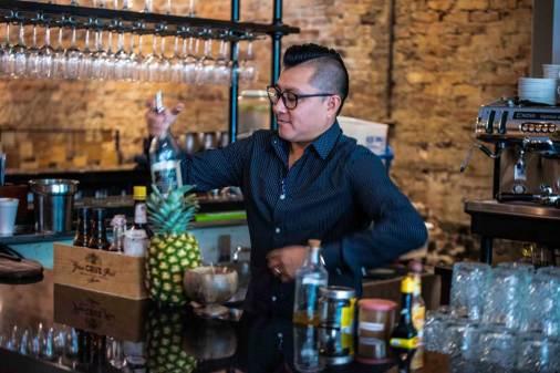 Executive Bar Manager Emerson Bamaca