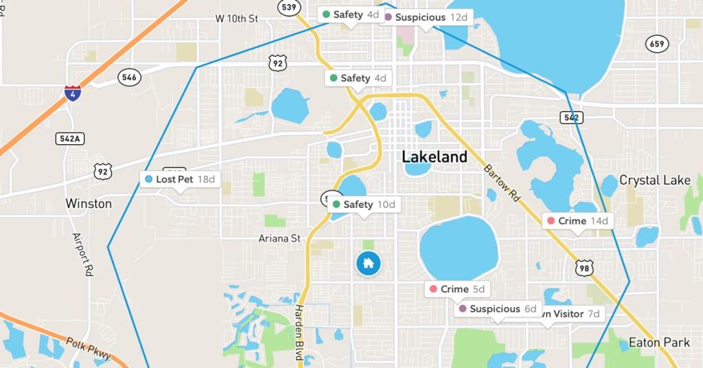 neighbors app map