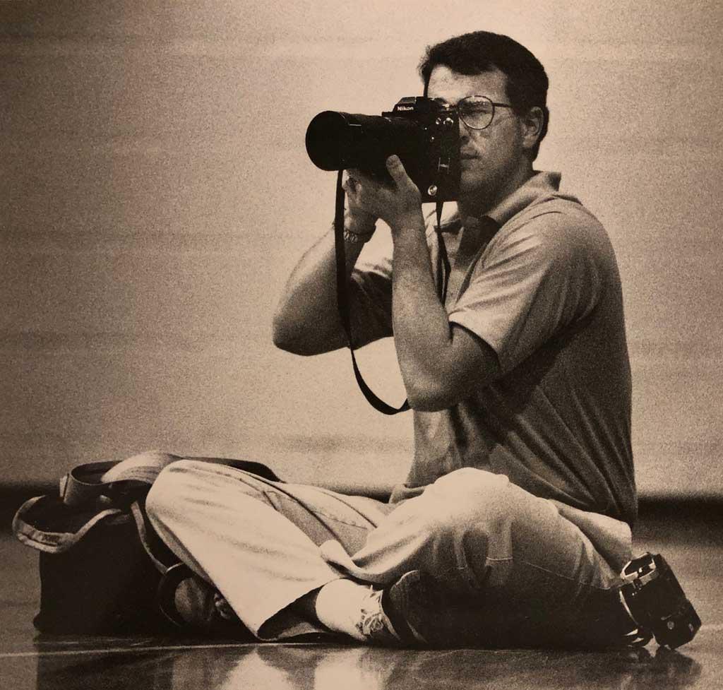 Hans Lehman, high school photographer