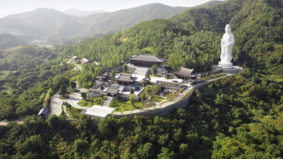 慈山寺正式開放予公眾參學   李嘉誠基金會