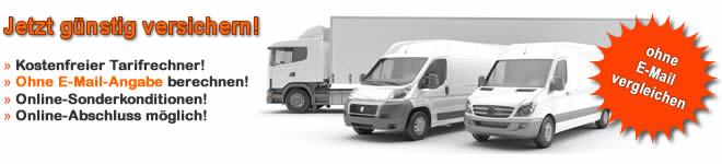 Lieferwagenversicherung oder LKW-Versicherung wechseln