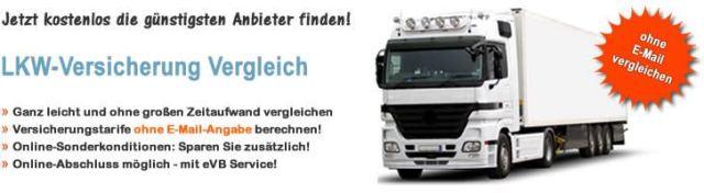 LKW Versicherung Vergleich online!