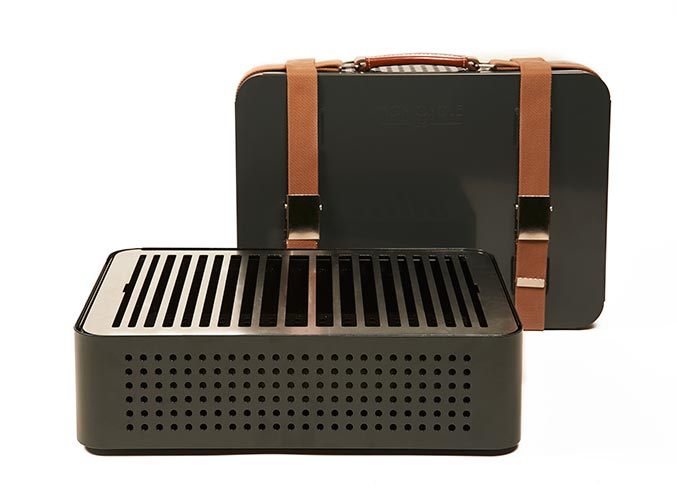 Barbacoa Mon Oncle 44x32x16,6cm grey. 303€. Barbacoa saludable
