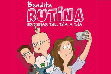 Portada del libro. Bendita rutina