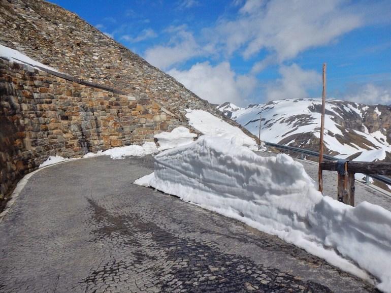 Der Weg zur Edelweißspitze-super Traktion