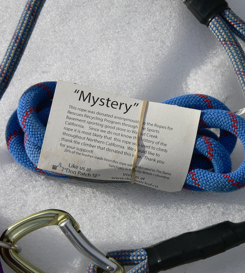 Mystery rope donation