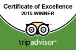 CATANGER LLAMAS AWARDED 2015 TRIPADVISOR CERTIFICATE OF EXCELLENCE