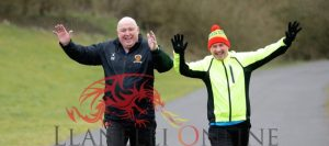 Athletes brave the cold for 66th park run