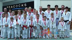 Shoppers treated to Judo display at St Elli Centre