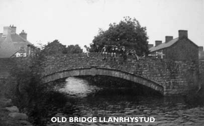 Early view of old Llanrhystud Bridge