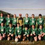 Llanrhystud F.C. 1991-2 football season