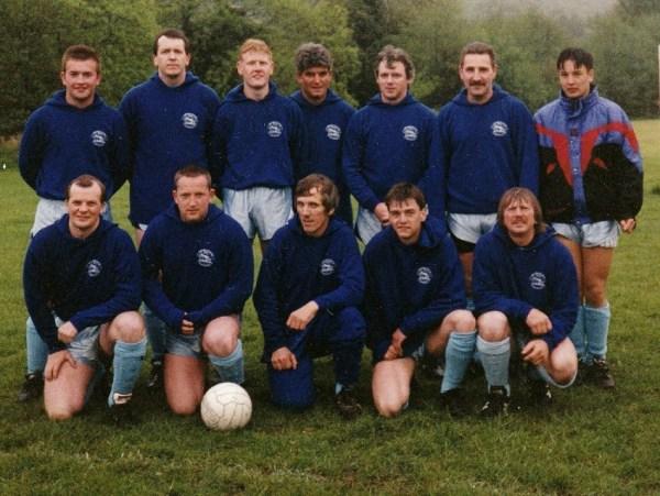 Llanrhystud Football Club - Early Team Photo