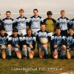 Llanrhystud F.C. 1993-4 football season