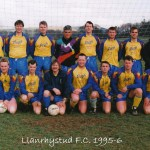 Llanrhystud F.C. 1995-6 football season