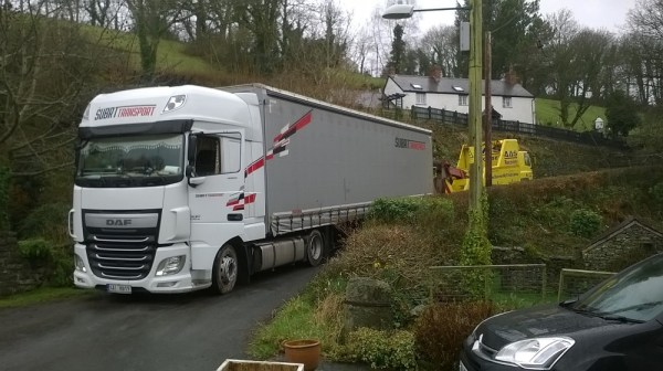 Subrt Transport pulled out of Cwm Mabws