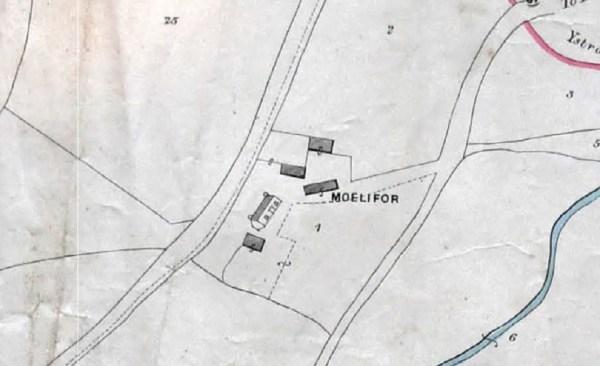 Moelifor Farm, Llanrhystud 1884