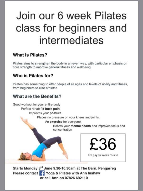 Pilates Classes Ceredigion