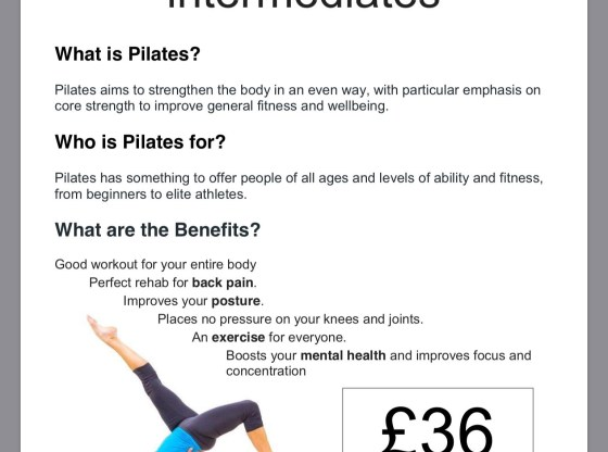 Pilates Classes Ceredigion