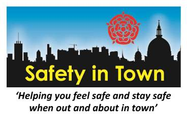 Safety in Town poster