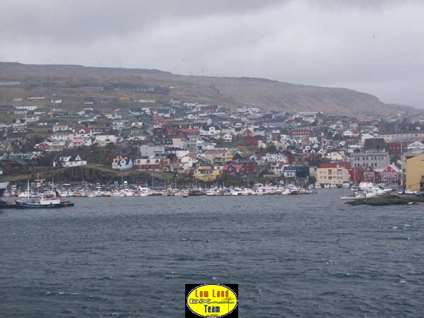 Arrival at Thorshavn, Faroe Islands