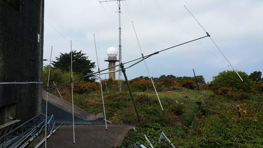 The 6m yagi ready for action