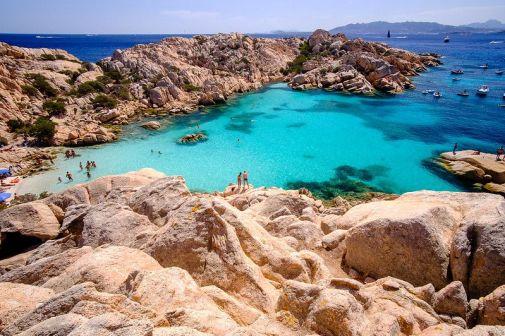 Playas de Italia: Cala Coticcio