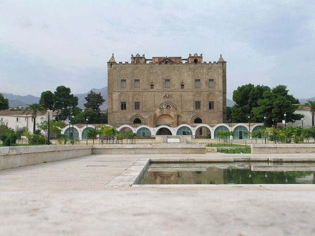 La Zisa, palacio qué ver en Palermo