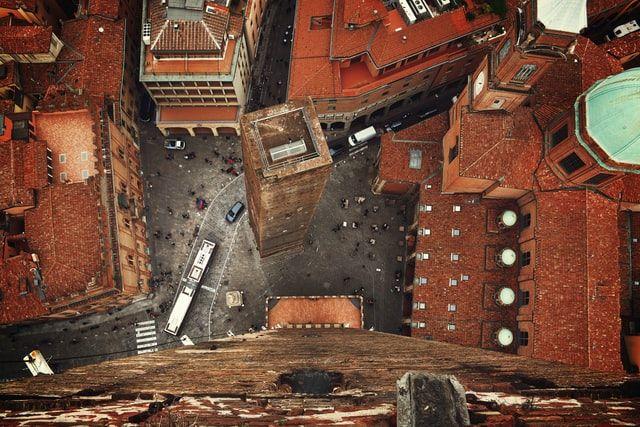 Ver Bolonia en dos días: Torre degli asinelli