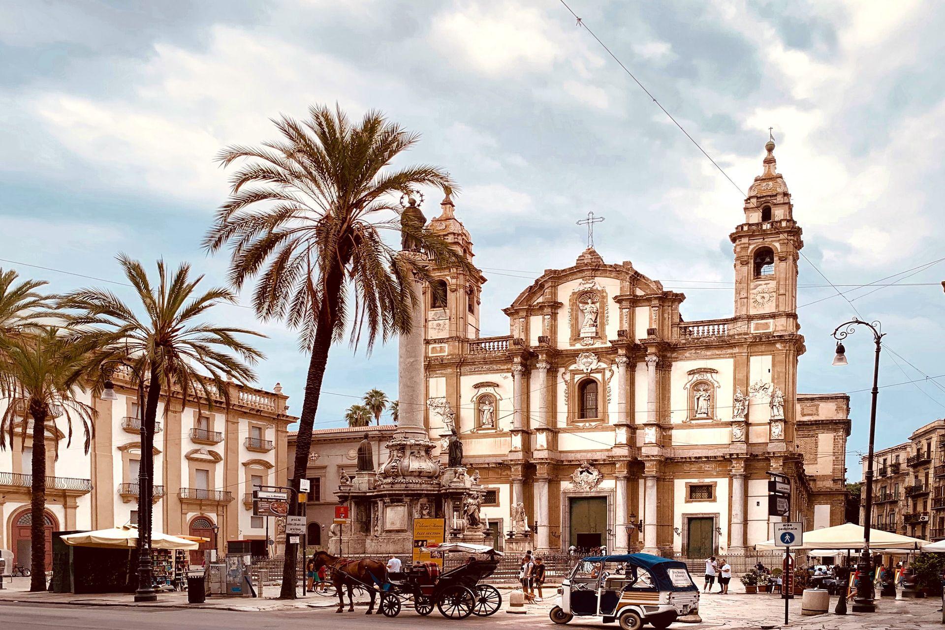 Ciudades de Sicilia