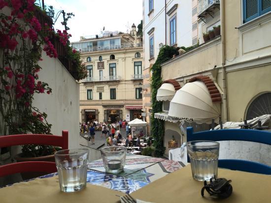 Restaurantes donde comer en Amalfi