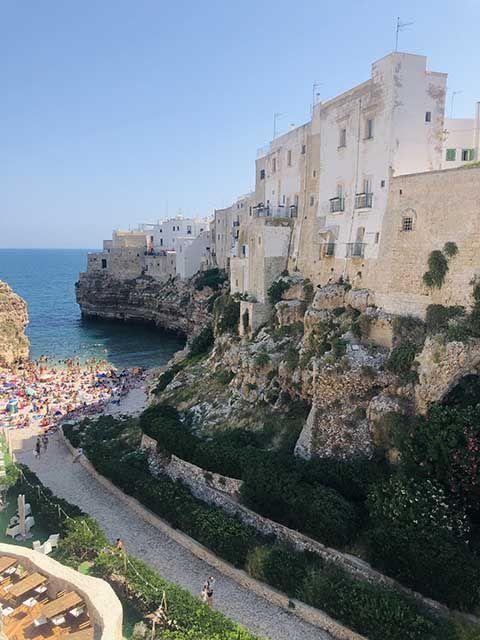 Playas de Polignano a Mare: Lama Monachile