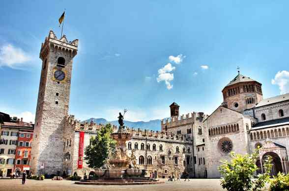 Ciudades del Norte de Italia: Trento