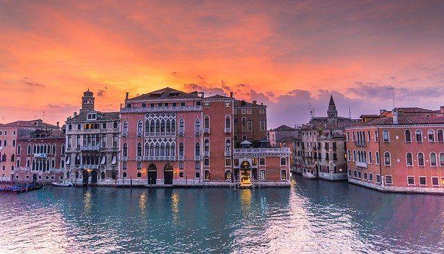 Venecia en el periodo otoñal