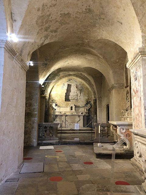 Entrada a la iglesia de San Pietro Barisano