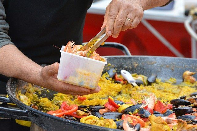 Restaurantes españoles en Rom: paella