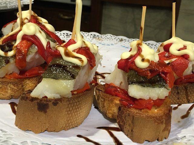 Ricas tapas en los restaurantes españoles en Rom